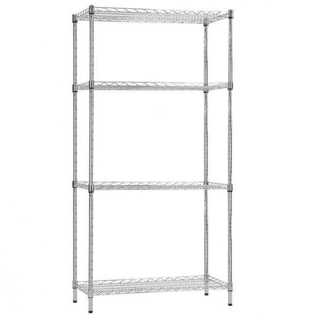 Syncrosteel wire shelving unit 900x600