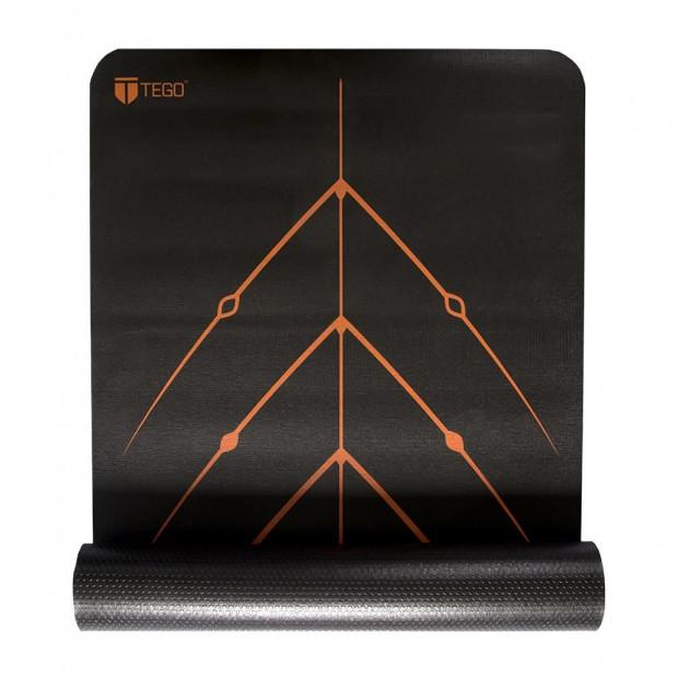 Tego Stance Reversible Mat With Guildalign - Black Orange
