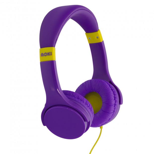 Moki Lil' Kids Headphones - Purple