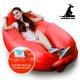 Wallaroo Inflatable Air Bed Lounge Sofa - Red