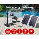 110W LED Lights Solar Fountain Battery Submersible Water Pump Image 4 thumbnail