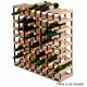 Timber Wine Rack 72 Bottles Image 4 thumbnail