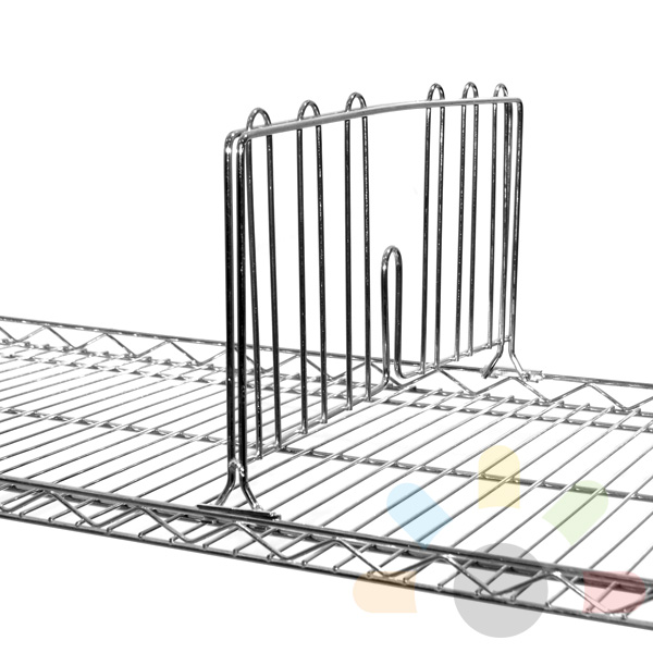 1 x 350mm vertical divider for wire shelving