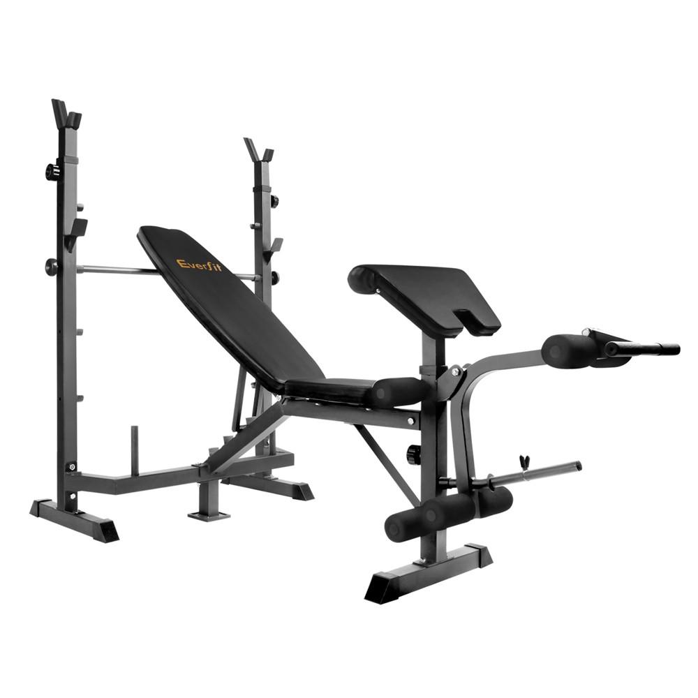 Multi-functional Fitness Bench - Black