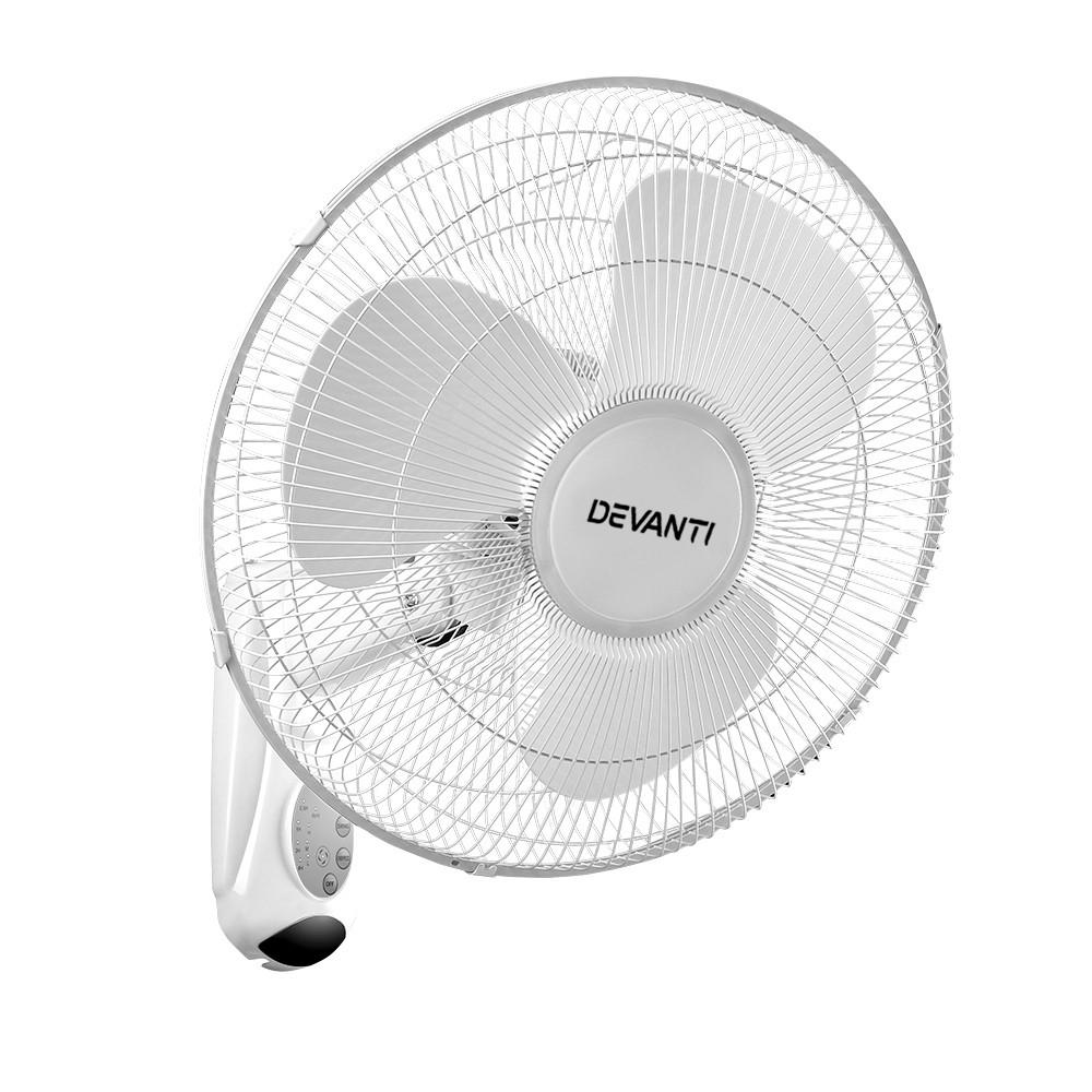 40cm 16 Wall Mountable Fan - White
