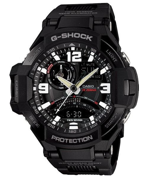 Casio G-Shock Mens Watch GA-1000FC-1ADR