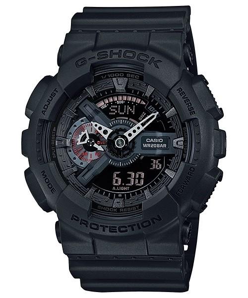 Casio G-Shock Analogue/Digital Men Black Watch GA110MB-1A...