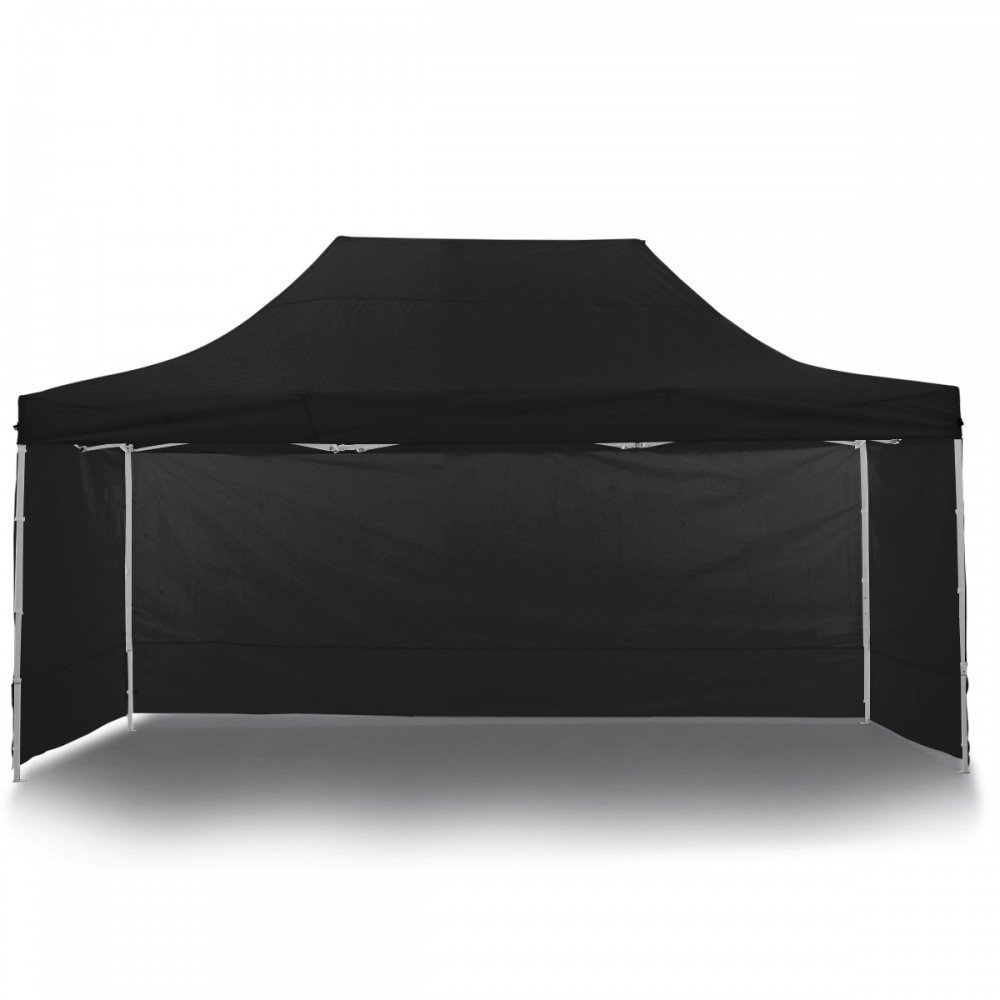 Wallaroo 3x4.5m Popup Gazebo Black