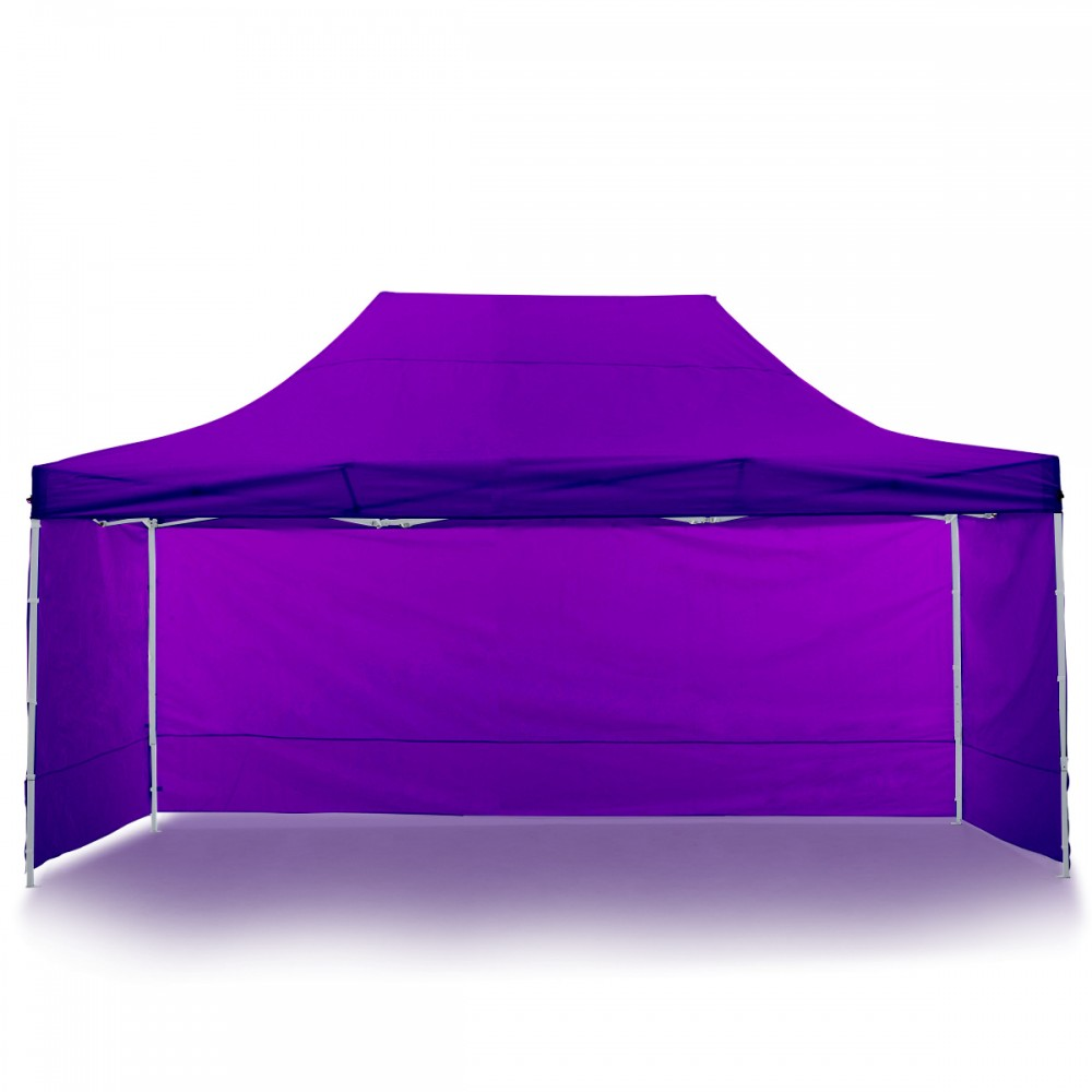 Wallaroo 3x4.5m Popup Gazebo Purple