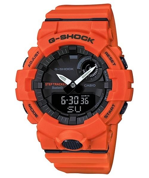 Casio G-SHOCK Orange G-SQUAD Step Tracker Bluetooth Mens Watch...