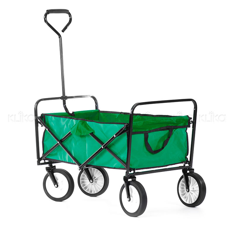Versitile Garden Utility Cart Green