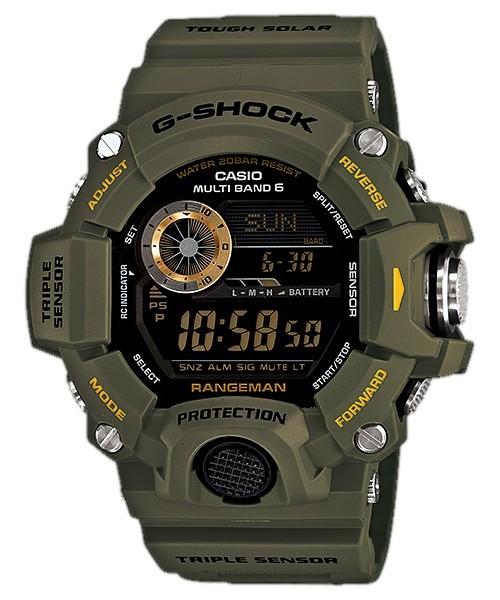 Casio G-Shock Rangeman Multi-Band Atomic GW-9400-3 Mens Watch