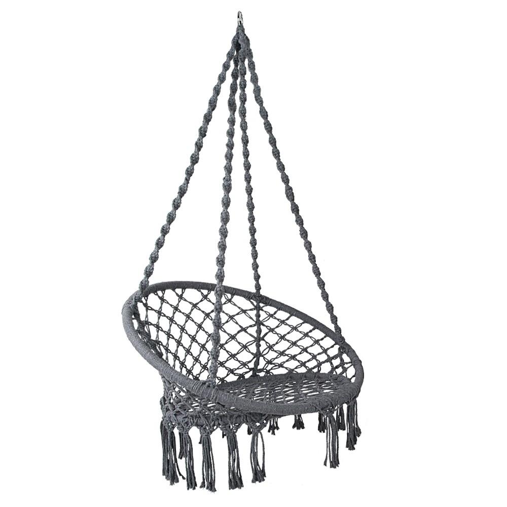 Hammock Hand-Made Swing Chair - Grey