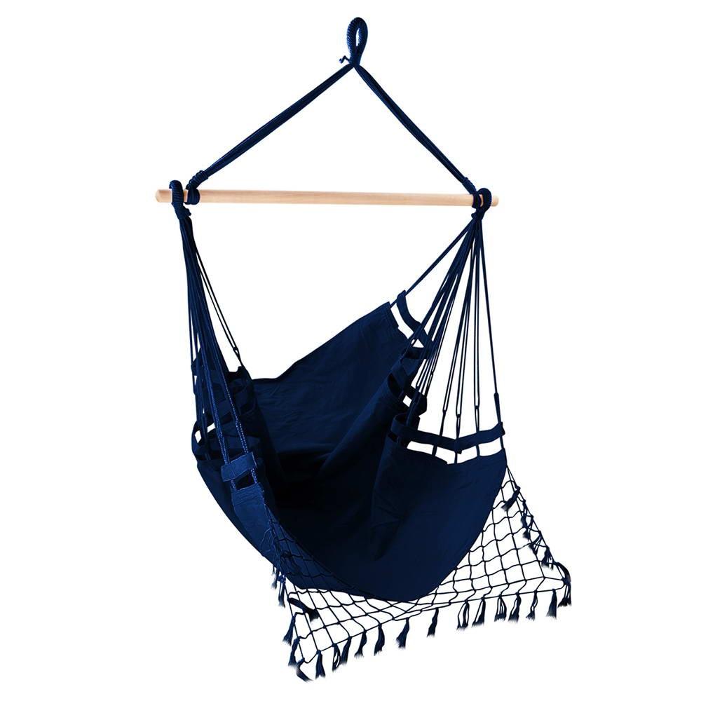 Gardeon Hammock Swing Chair - Navy