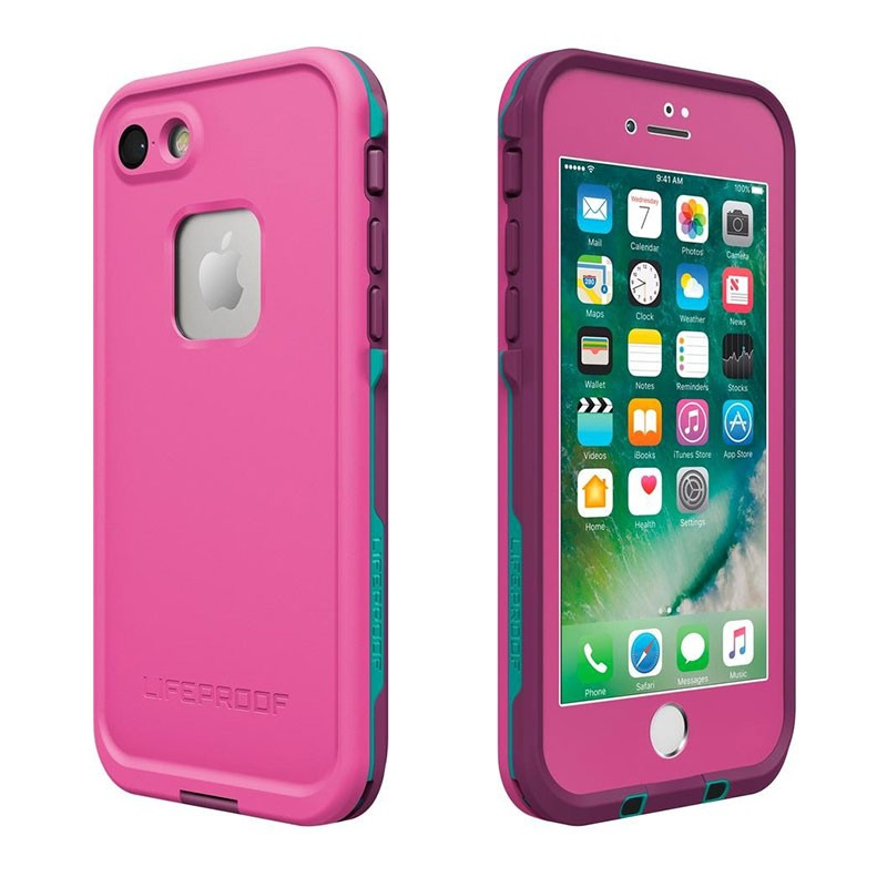 iPhone7 Genuine LifeProof Fre Case - Pink