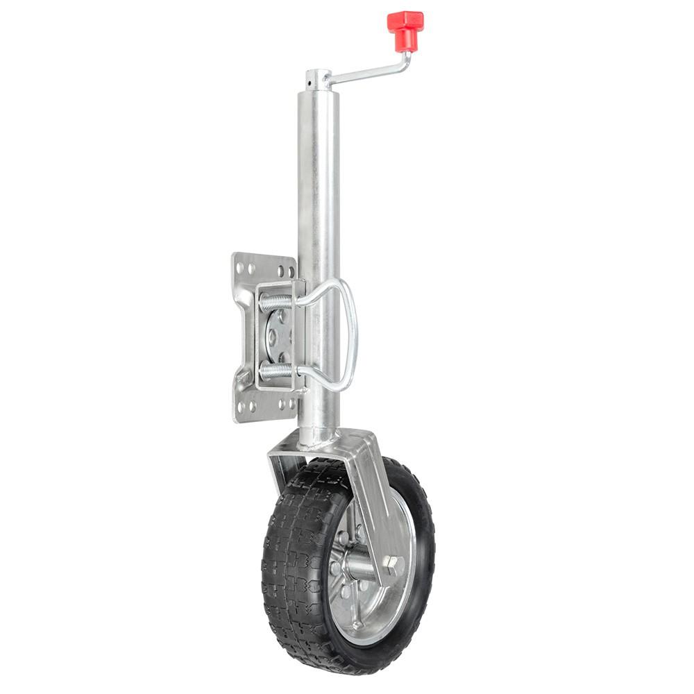 Swing Jockey Wheel heavy-duty for trailers boats and caravans - Rigg