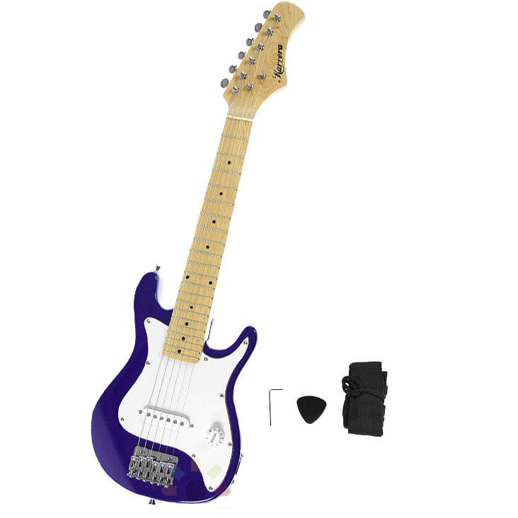children 39 s electric guitar pack purple. Black Bedroom Furniture Sets. Home Design Ideas