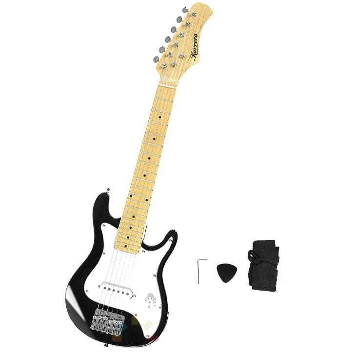 children 39 s electric guitar pack black childrens guitars. Black Bedroom Furniture Sets. Home Design Ideas