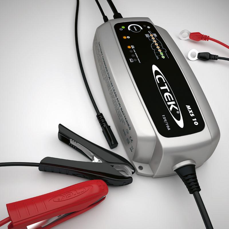 Ctek MXS 10 Car Battery Charger 12V