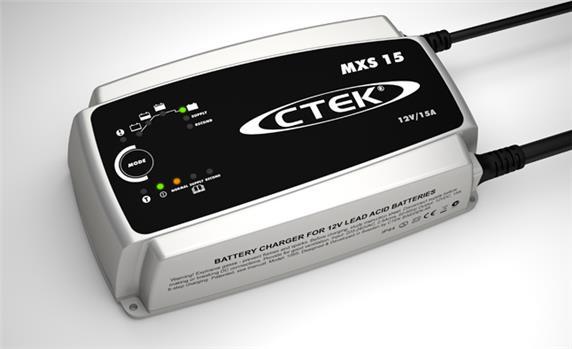 Ctek MXS 15 Car Battery Charger 12V 8 Steps