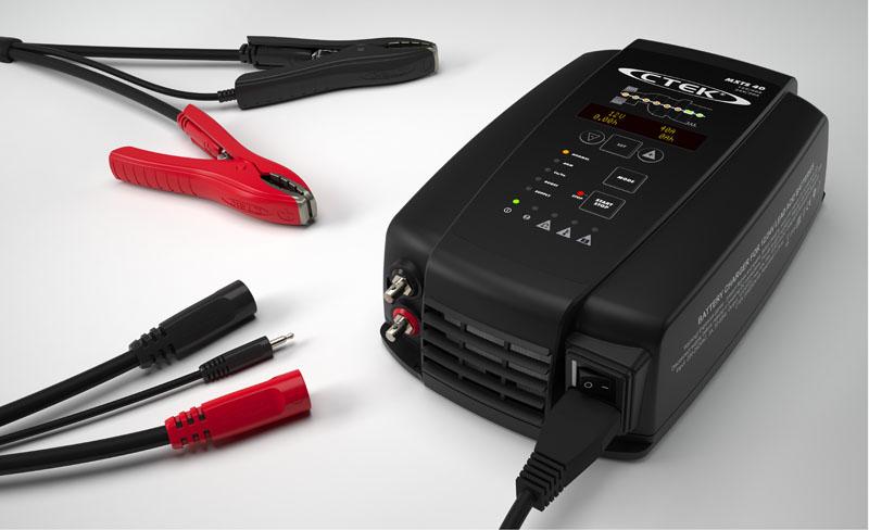 Ctek MXTS40 12/24V 40A Car Battery Charger