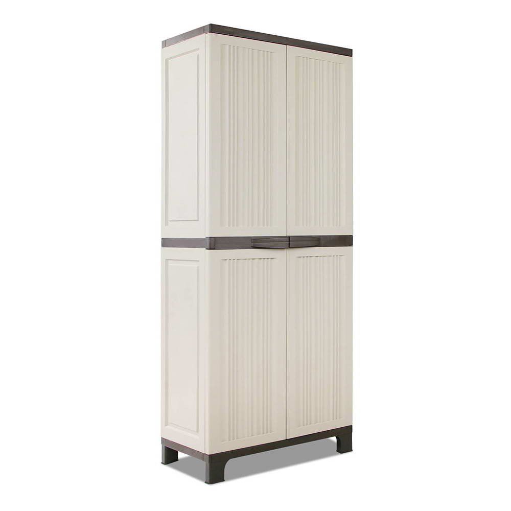 Outdoor Lockable Tall Size Adjustable Cabinet Cupboard - H1D