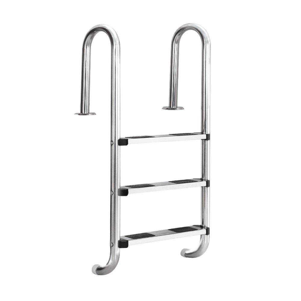 1.4m DIY Stainless Steel Pool Ladder - Steel