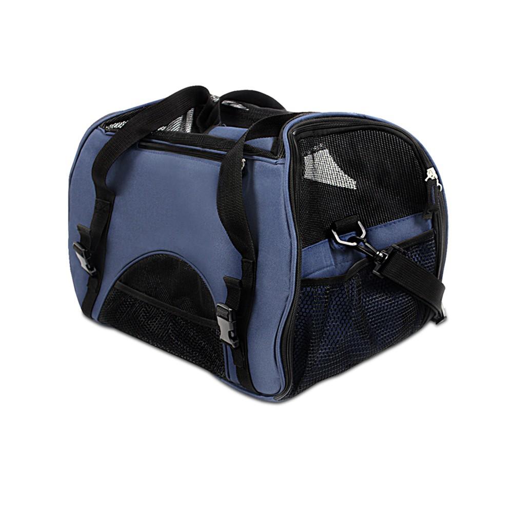 Extra Large Portable Pet Carrier Bag - Blue