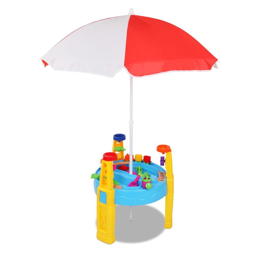 26 Piece Kids Umbrella & Table Set