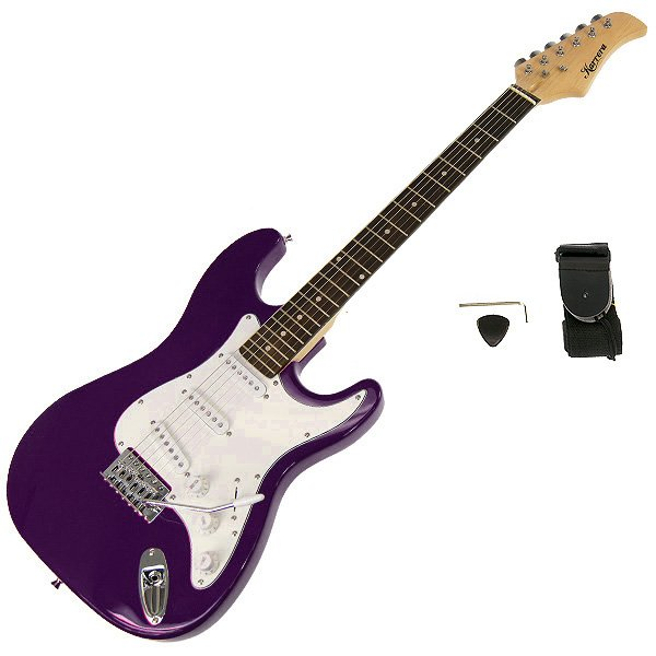 Full Size Electric Guitar Pack - Purple