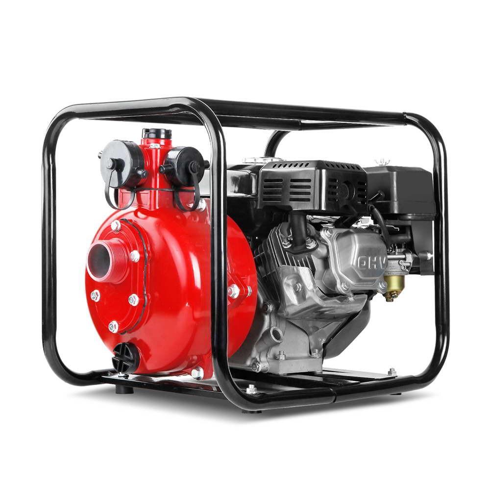 500L/m High Pressure Water Transfer Pump - Red