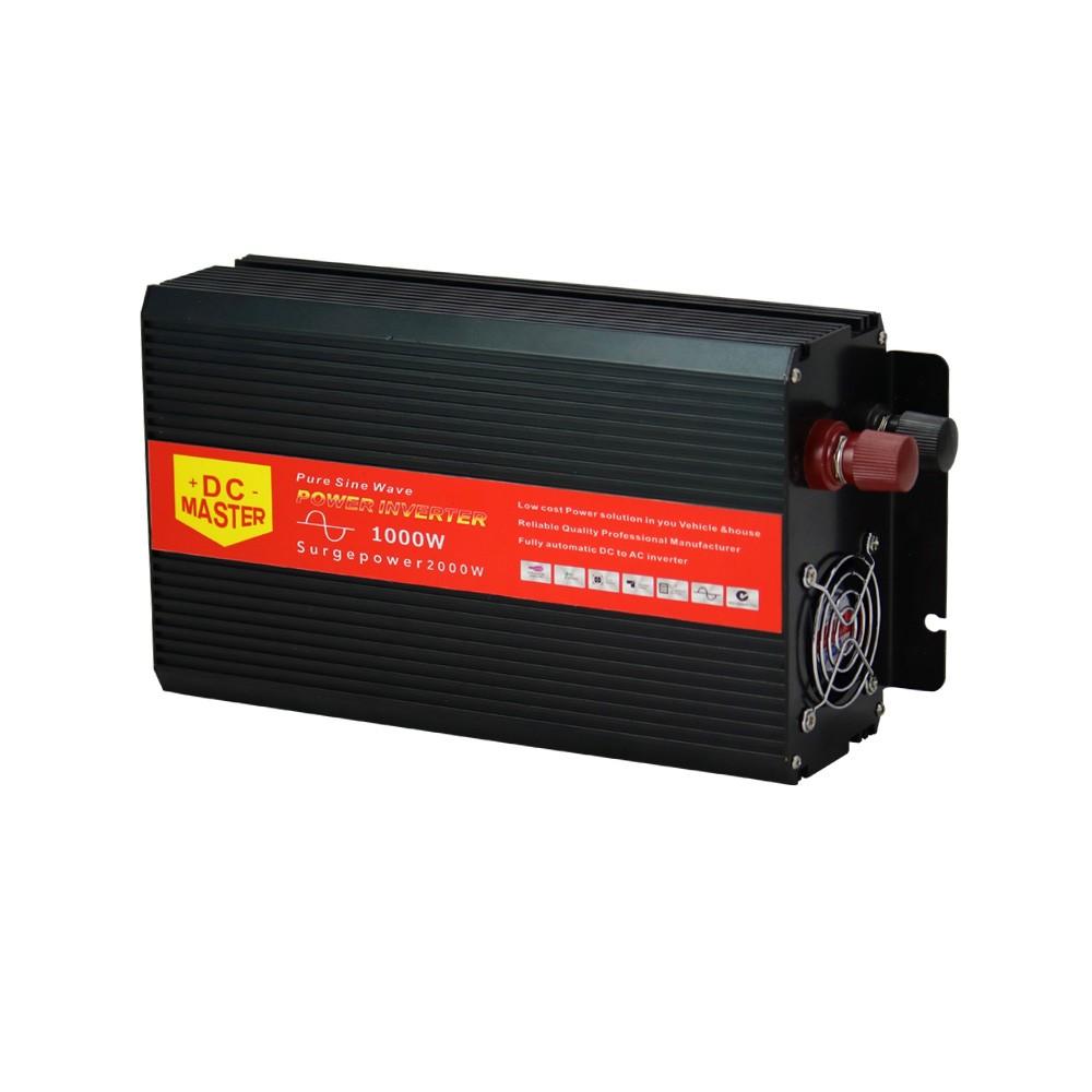 1000W Max 2000W 12V-240V Power Pure Sine Wave Inverter Car Caravan