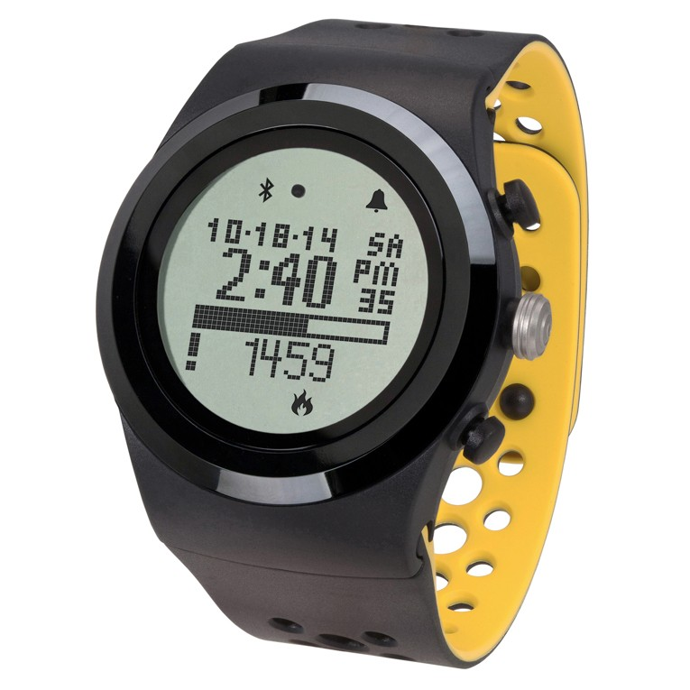 LifeTrak Brite R450 - Black / Freesia Smart Watch