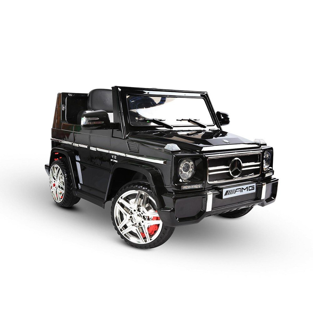 Mercedes G65 AMG Kids Ride on Car with Remote Control Black