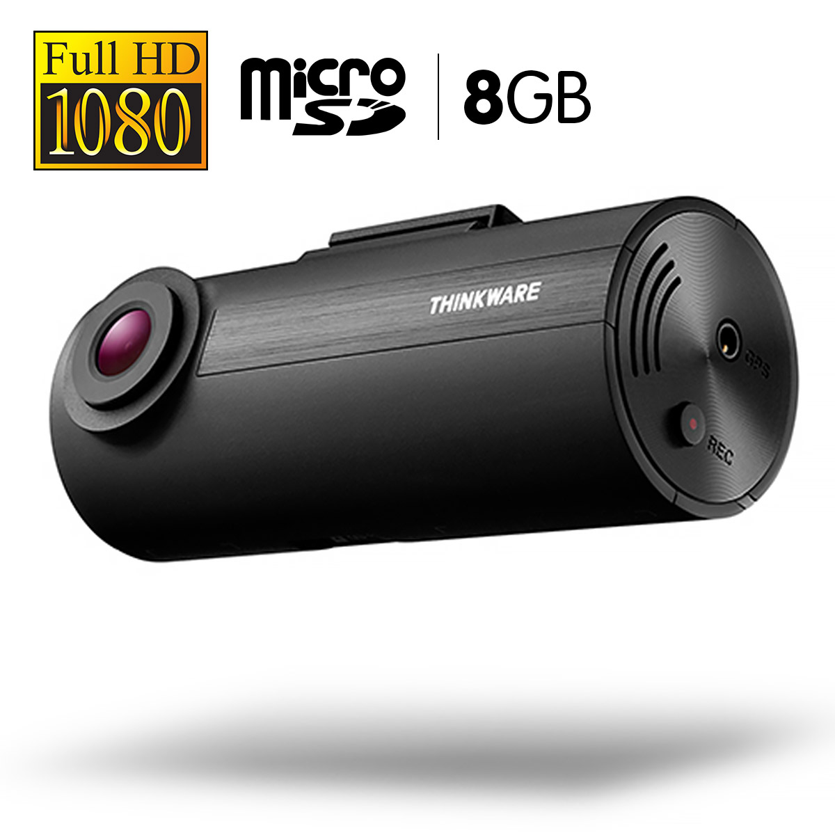 THINKWARE 1080P Full HD Dash Cam With 8GB Micro SD - F5008