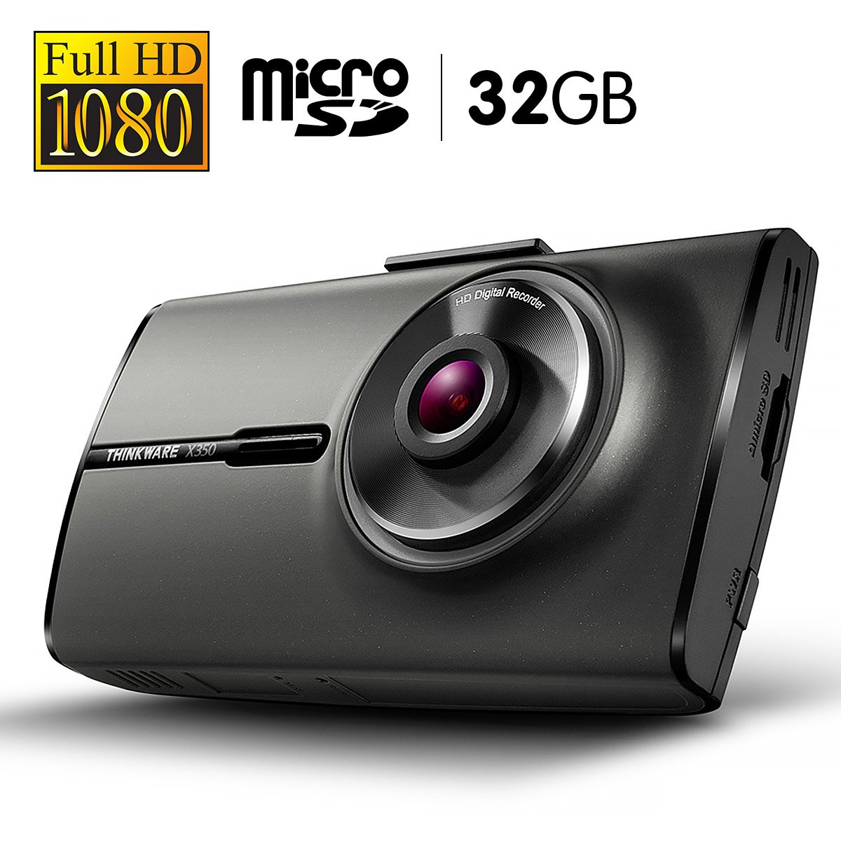 THINKWARE 1080P Full HD Dash Cam With 32GB Micro SD - X35032