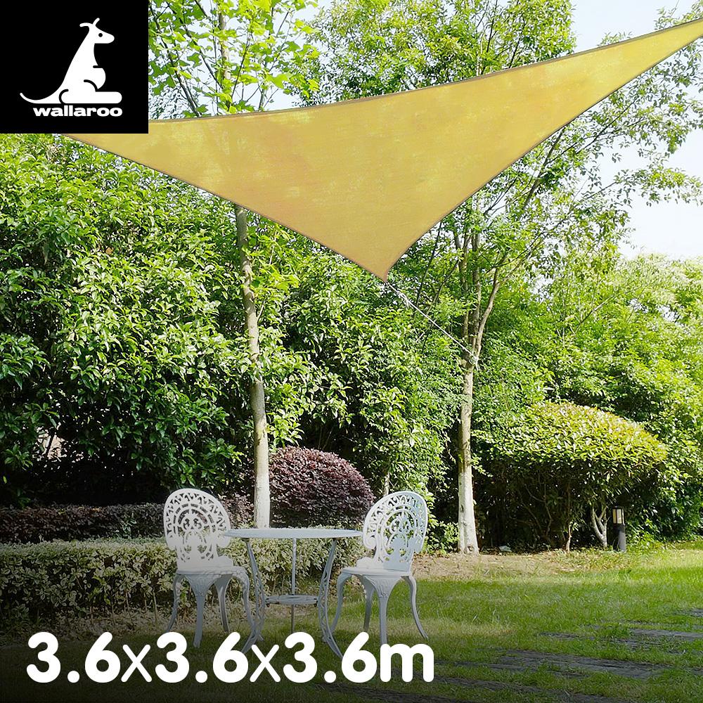 Wallaroo Shade sail 3.6m triangle