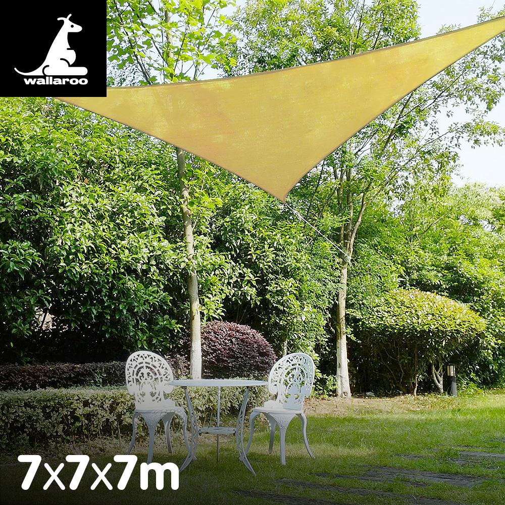Wallaroo Shade sail 7x7x7m triangle