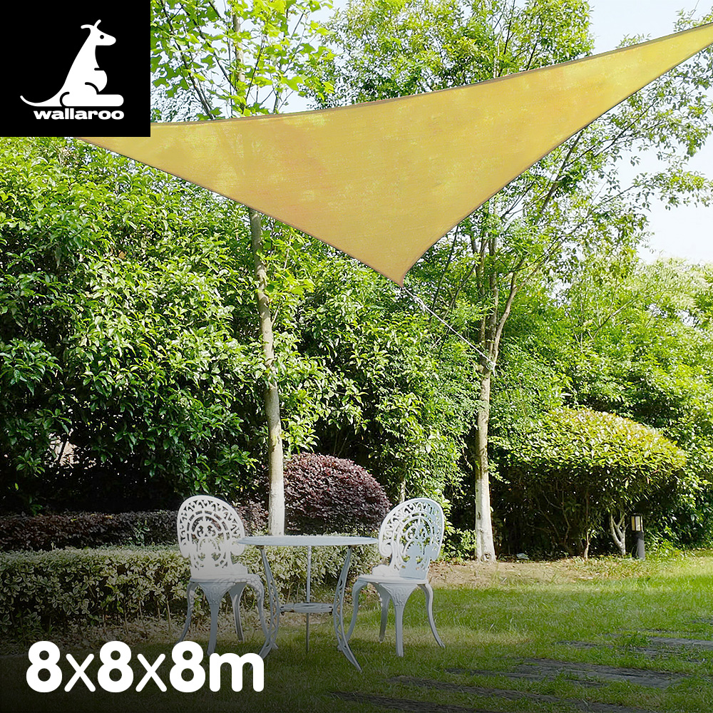 Wallaroo Shade sail 8x8x8m triangle
