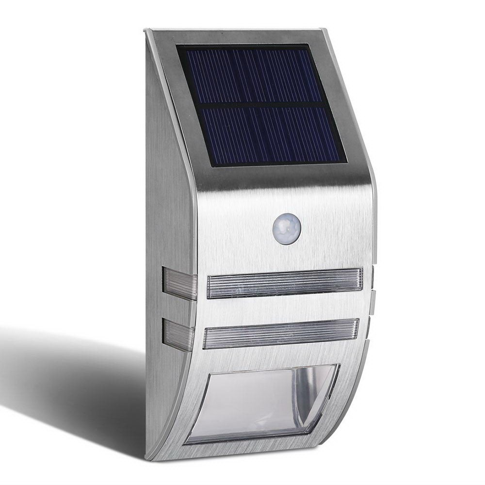 Set of 4 Solar Powered Security Lights