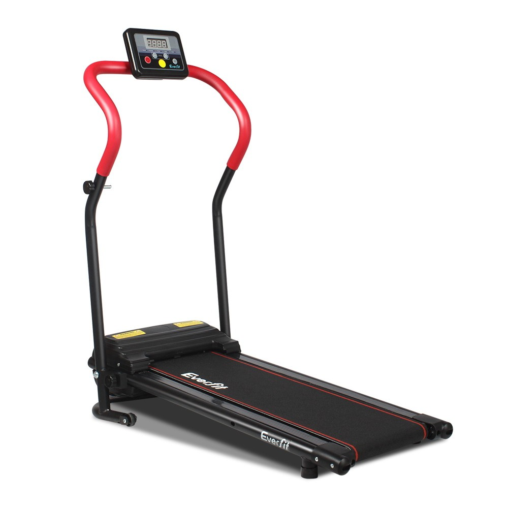 Electric Treadmill Foldable 6 Speed Cardio Exercise Machine - rd