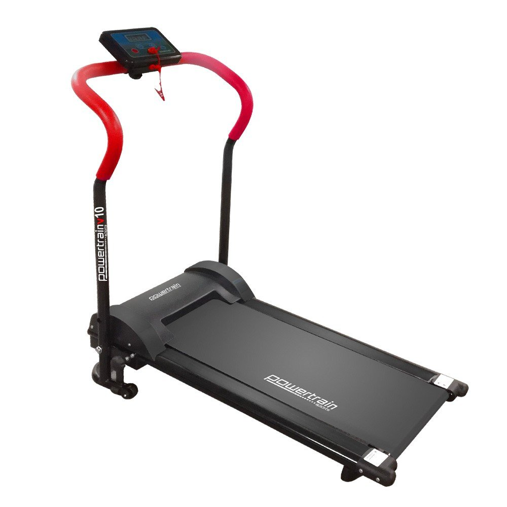 Powertrain Treadmill V10 Cardio Running Exercise Home Gym - Red