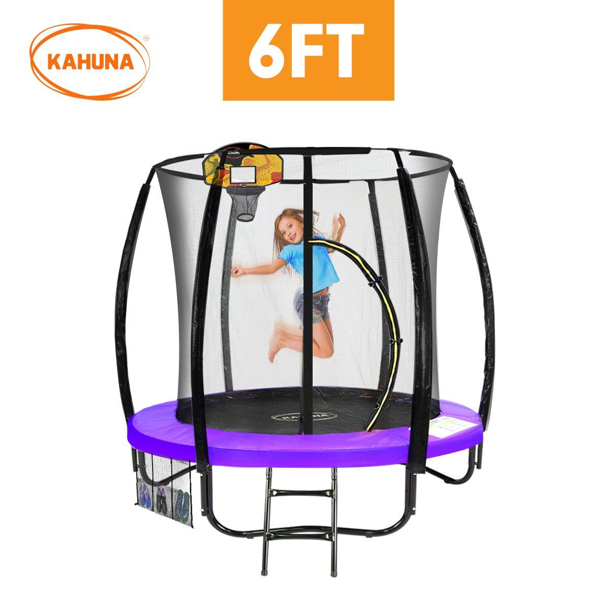 Kahuna Classic 6ft Trampoline - Purple