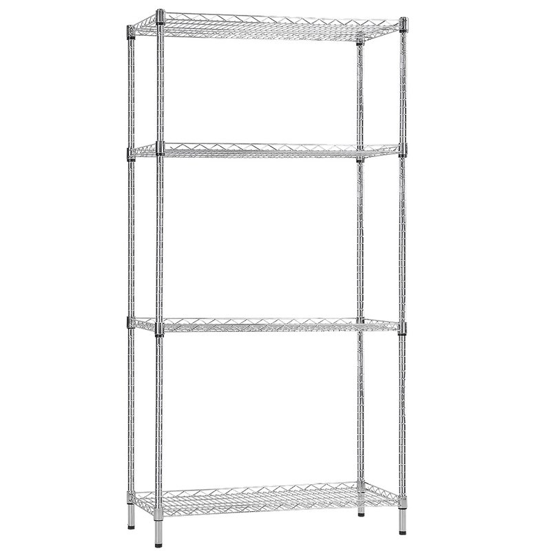 Syncrosteel wire shelving unit 1200x350