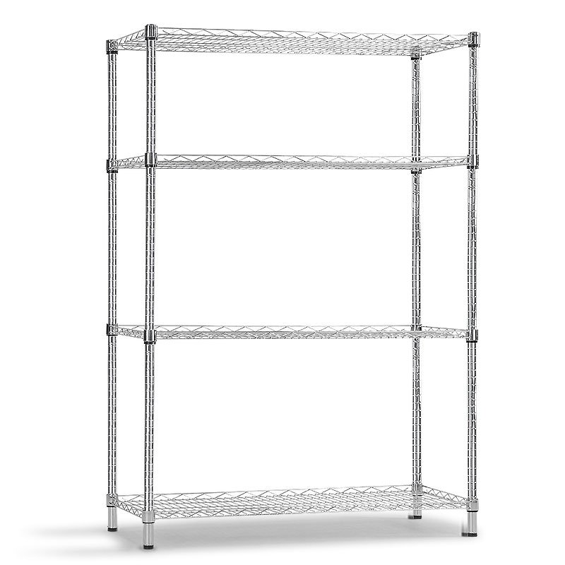 Syncrosteel wire shelving unit 1500x600