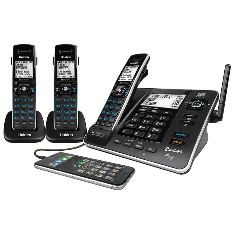 Uniden XDECT 8355 + 2 Smart Home Cordless Phone