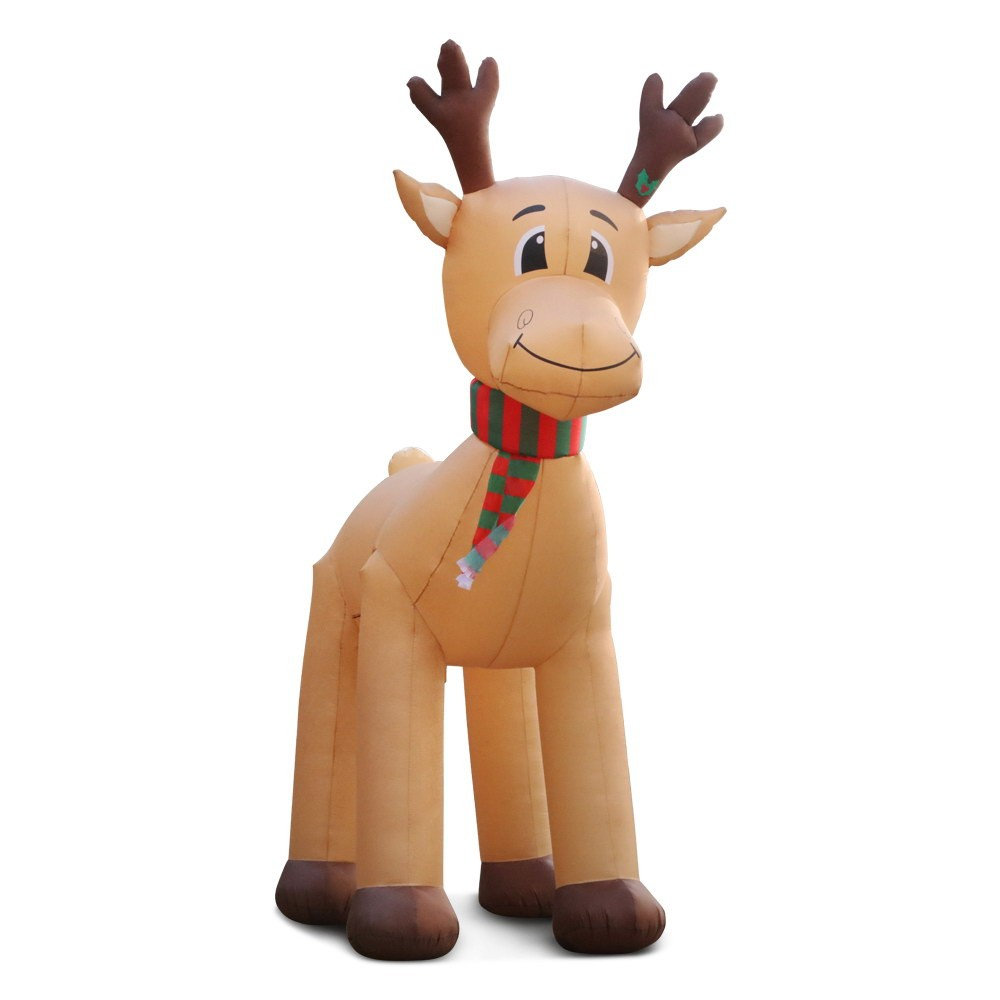 Jingle Jollys 5M Inflatable Christmas Reindeer
